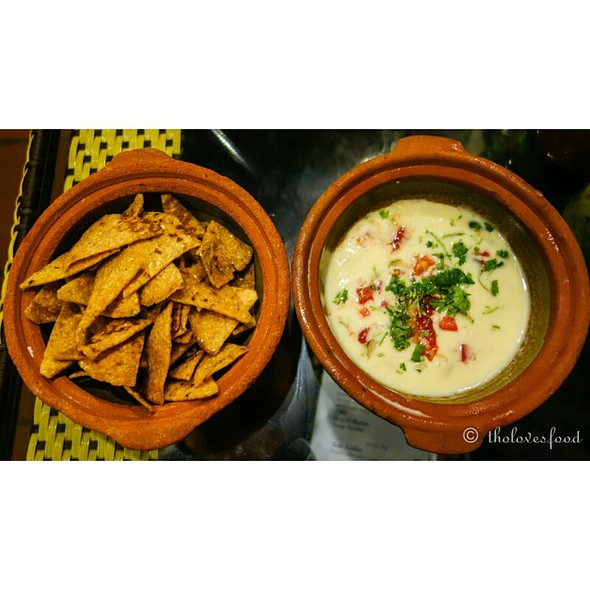 Chips And Queso @ Anita's Cantina