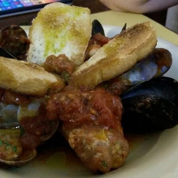 Tuna Rolls With Mixed Tomato Seafood Sauce @ La Perla Nera
