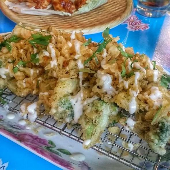 Tempura Broccoli @ Jackpot Chicken Rice