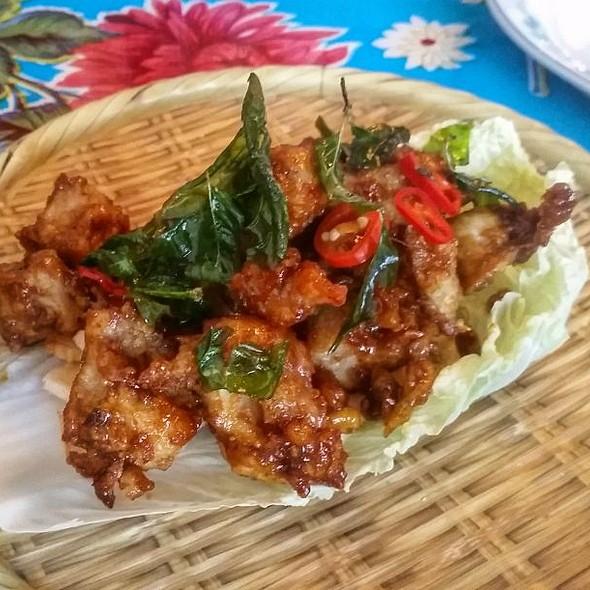 Fried Chicken Bites @ Jackpot Chicken Rice