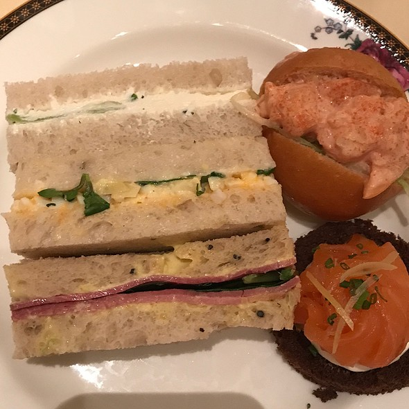 Wedgewood Afternoon Tea - Sandwiches