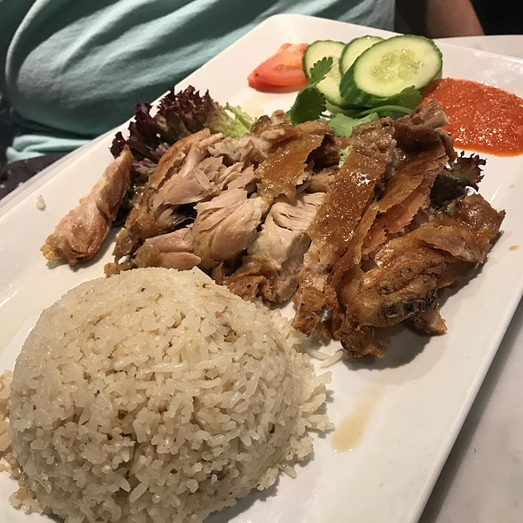 Chicken Rice @ Sassy's Red Malaysian By Chinta Ria