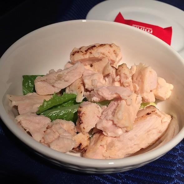 Chicken @ Air Canada business class