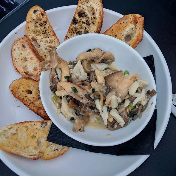 Crab & Mushroom Croustini