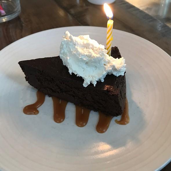 flourless chocolate cake @ The Corner Stop
