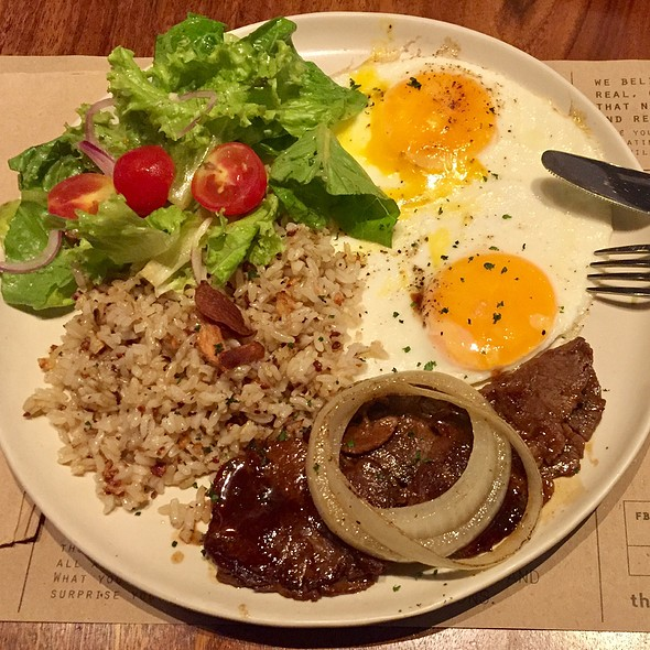 Bistek Tagalog (Beef Steak)