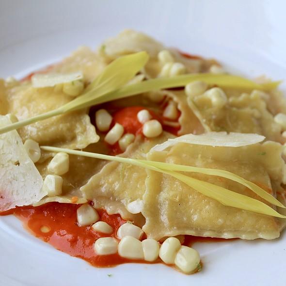 Corn Ravioli