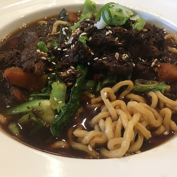 Spicy Szechuan Beef & Kabocha Stew Noodle Soup