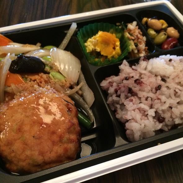 Tofu Hamburger Bento Box