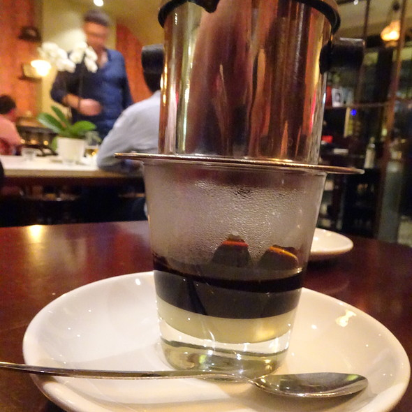 Vietnamese Coffee @ Red Lantern