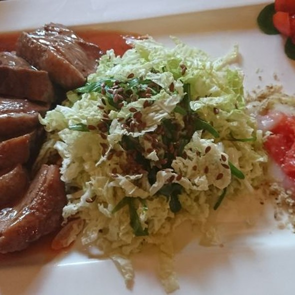 Duck Breast With Cabbage Salad