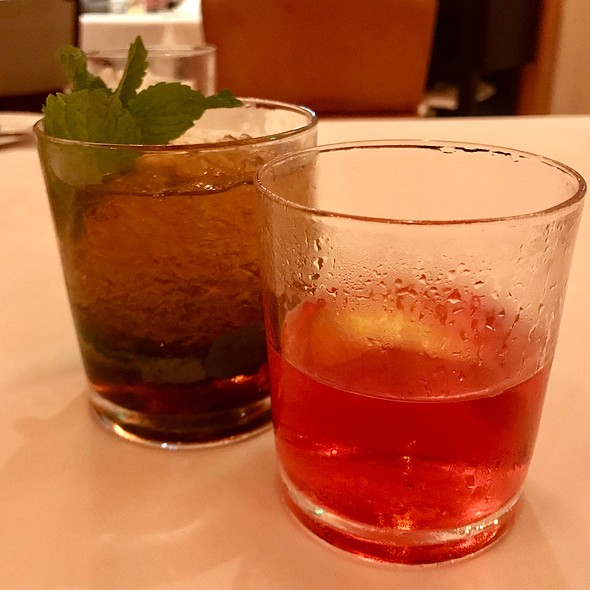 Sazerac And Mint Julep