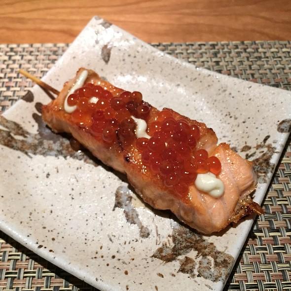 Salmon Oyako @ Soba Totto