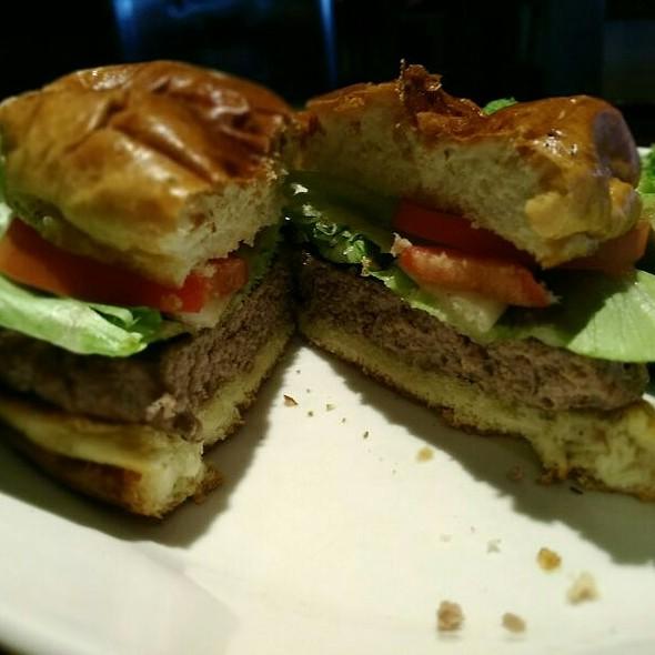 Wood Grilled Hamburger