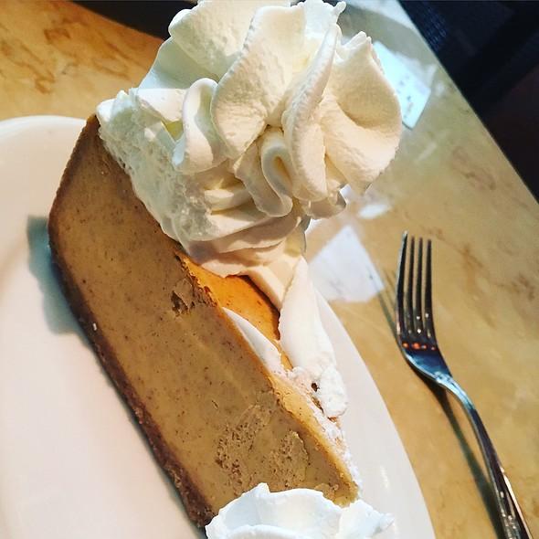 Pumpkin Cheesecake @ Cheesecake Factory