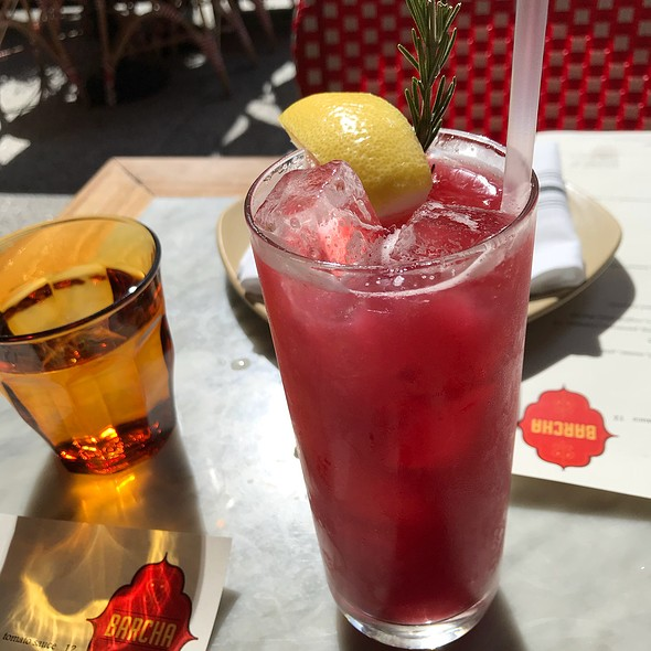 Rosemary Cherry Lemonade @ Barcha