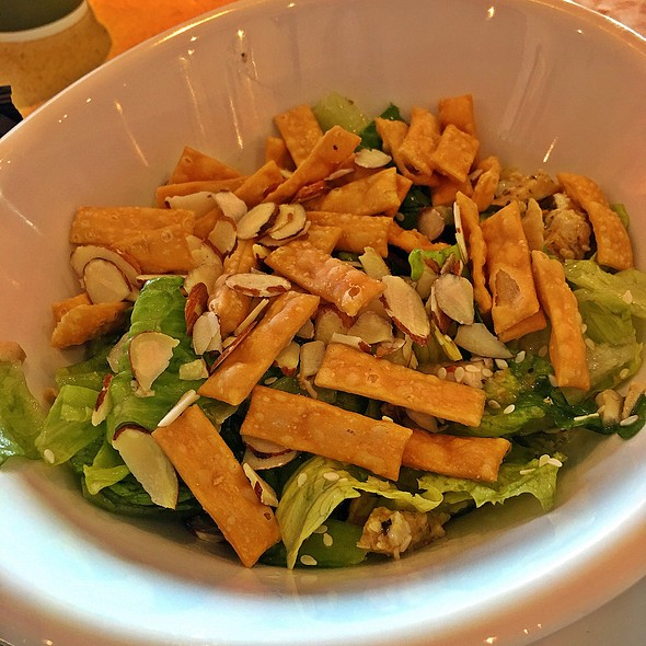 Asian chicken salad @ Panera Bread