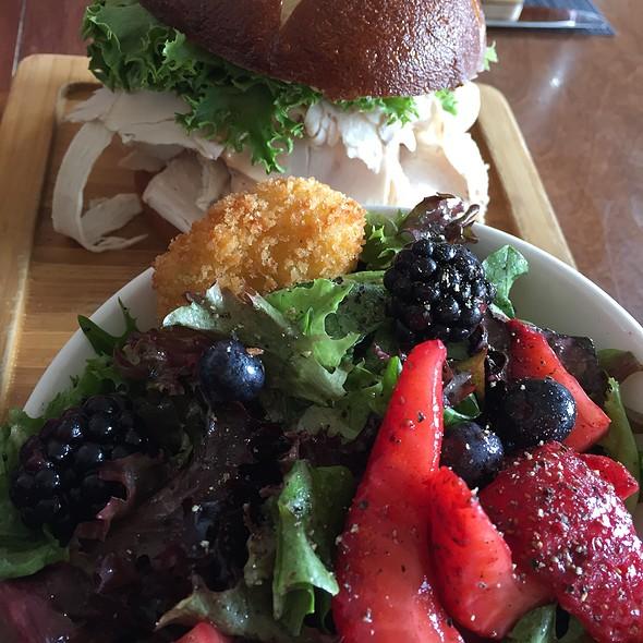 Turkey Club & Side Salad