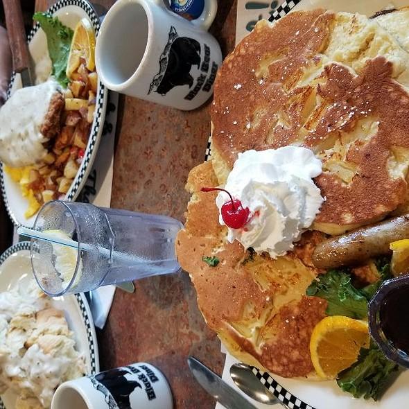 Pineapple Upside Pancakes  @ Black Bear Diner