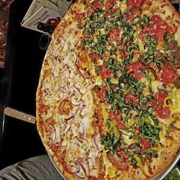 Tikka Tikka Pizza Half Stacey  @ Rocco's