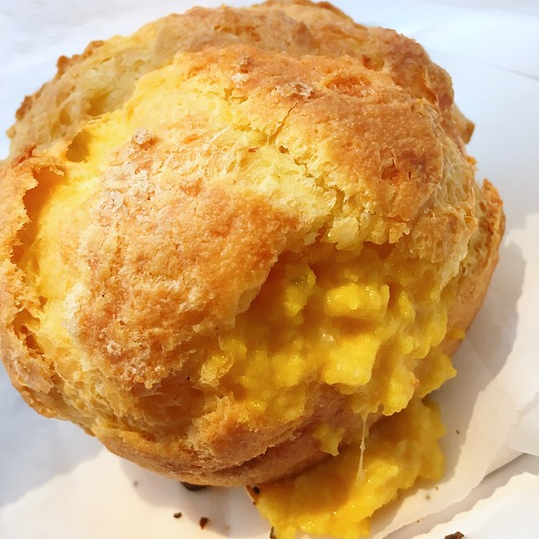O. G. Breakfast Gougere @ Daily Provisions