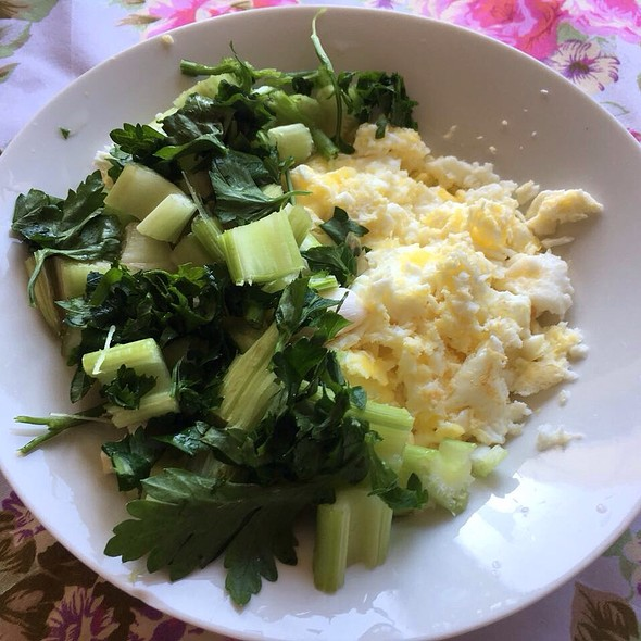 Omelette with Greens