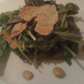 Green Salad With Green Apple And Fennel Bread - Seasons At The Ocean House, Westerly, RI