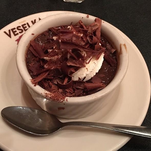 Chocolate Custard @ Veselka