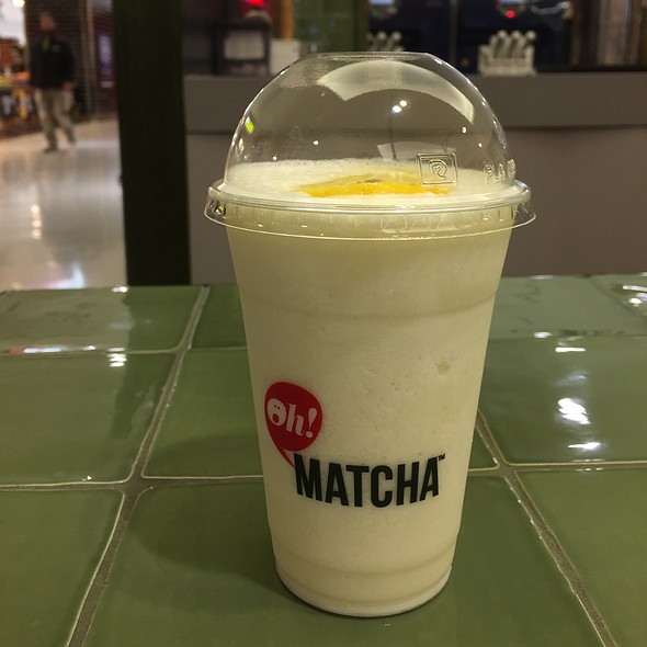 Yuzu Frappe @ Oh! Matcha - World Square