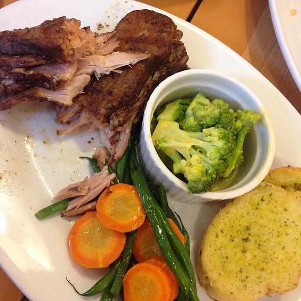 Roasted Pork Ribs @ Rack's