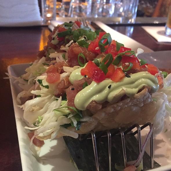 Ahi Tacos @ Tommy Bahamas Tropical Cafe