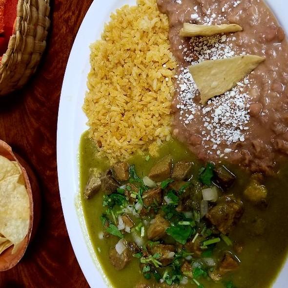 chile verde @ La Victoria Cocina
