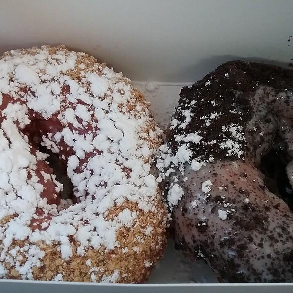 Strawberry Shortcake & Cookies n Cream Donuts