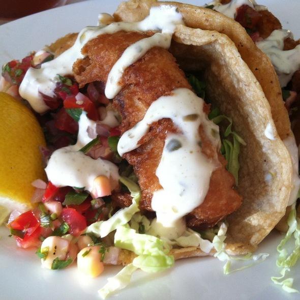 fish tacos - Jayne's Gastropub, San Diego, CA