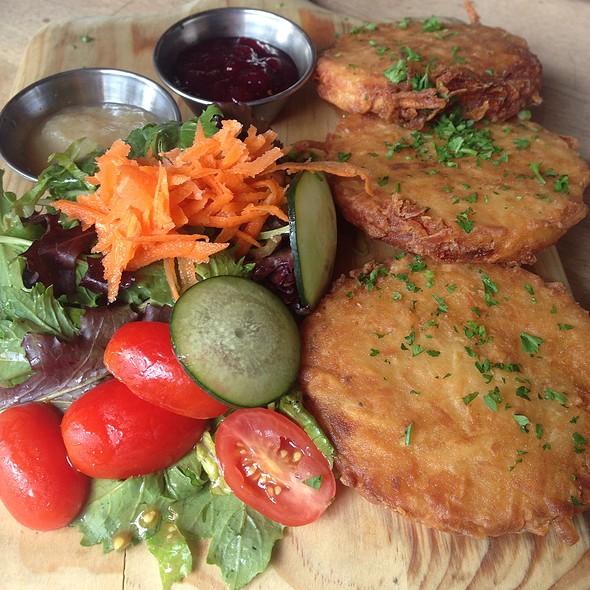 Potato Pancakes @ Loreley Restaurant and Beer Garden