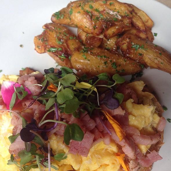 Scrambled Eggs @ Loreley Restaurant and Beer Garden