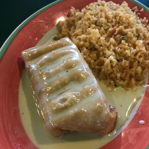 Chicken Chimichanga @ El Marisco Grill