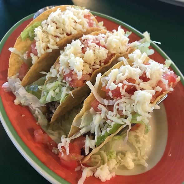 Crispy Beef Tacos @ El Marisco Grill
