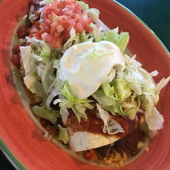 Burrito Supremo @ El Marisco Grill