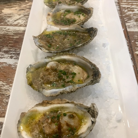 Grilled Oysters with Smoked Jalapeño Butter