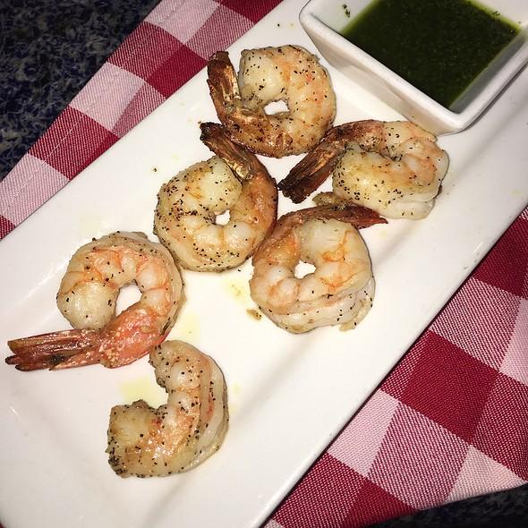 Happy Hour Shrimp With Pesto