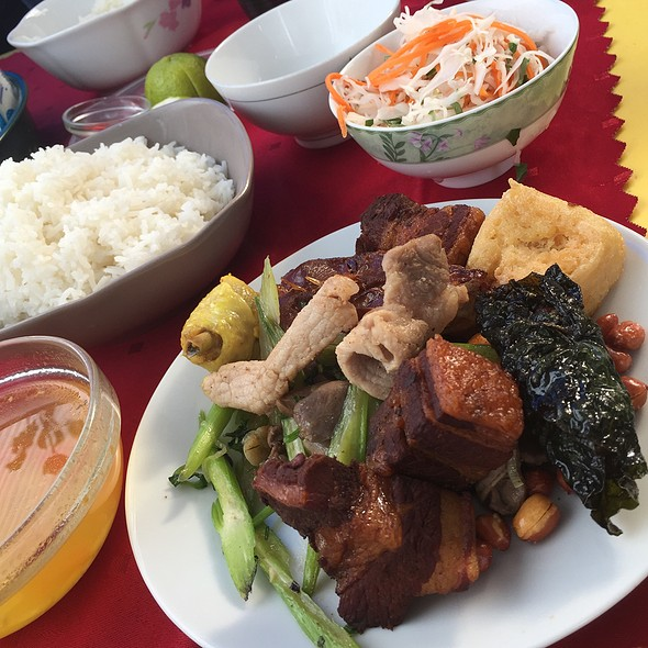 Rice Set @ Bún Cá Hai Phong