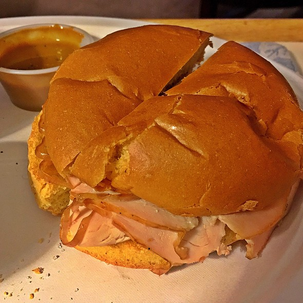 Smoked Turkey Sandwich @ Willard's