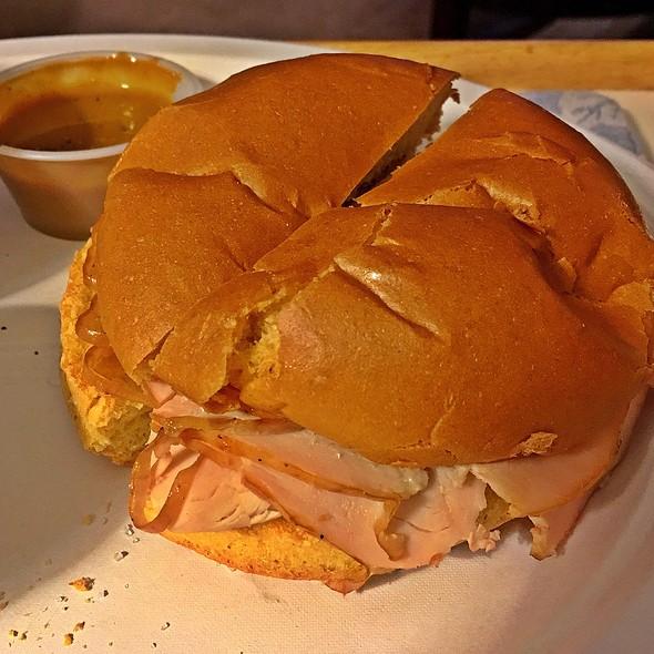 Smoked Turkey Sandwich @ Willard's