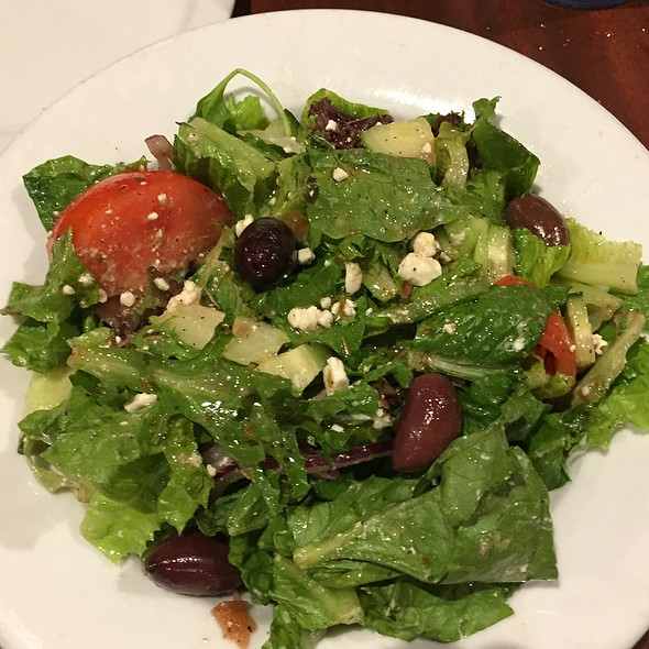 Greek Salad @ The Iron Skillet