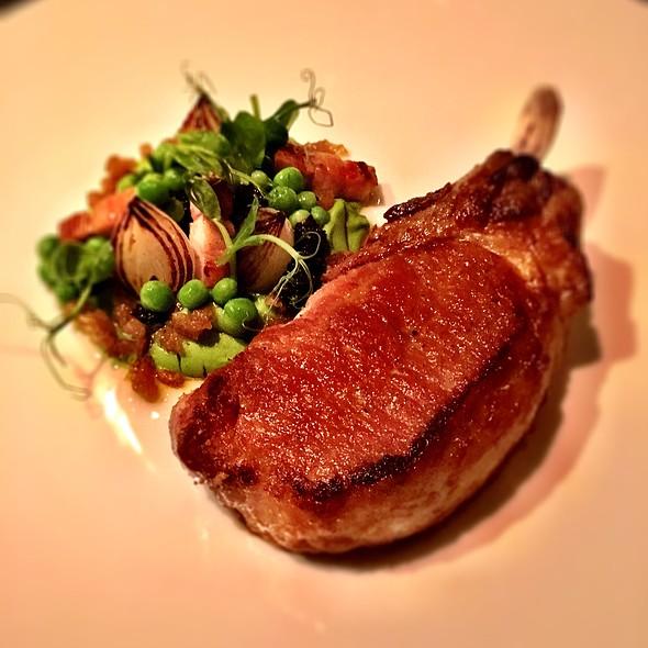 Iberico Pork Chop @ Dinner by Heston Blumenthal