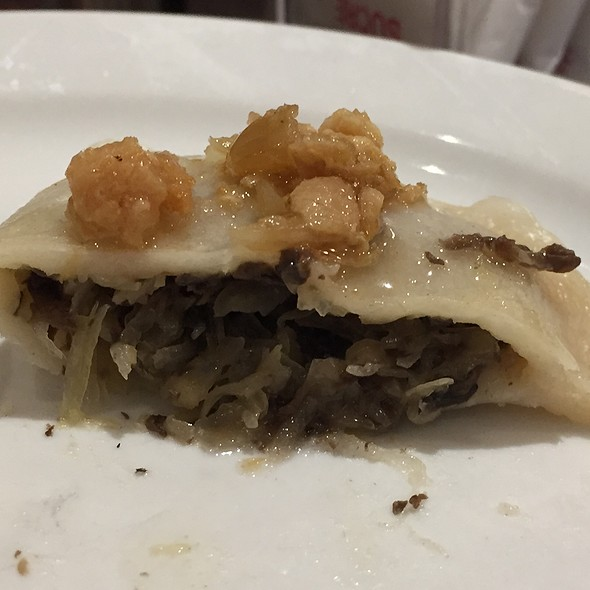 Sauerkraut and Mushroom Pierogies @ Cafe Polonez
