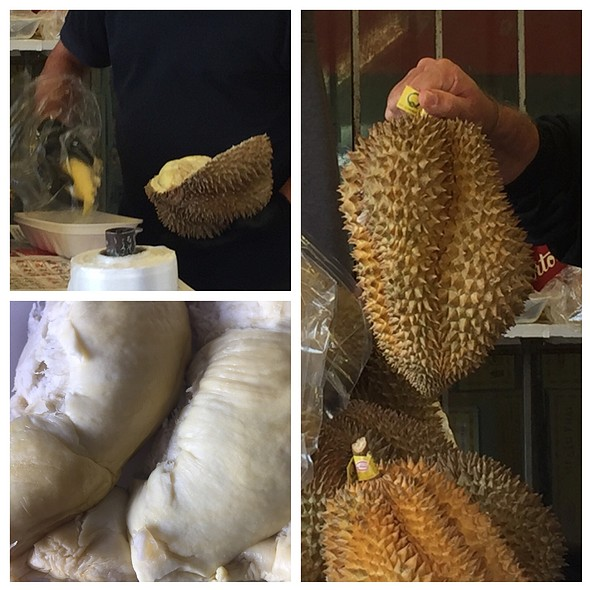 Fresh Durian @ Oriental Harvest