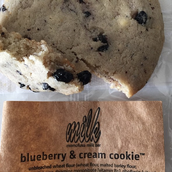 Blueberry & Cream Cookie @ Momofuku Milk Bar