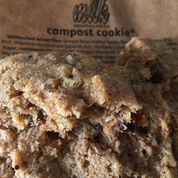 Compost Cookie @ Momofuku Milk Bar